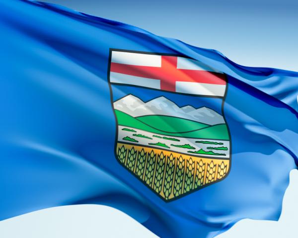 Alberta, Canada Flag