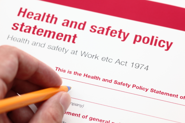 Health and Safety Policy for Employment Agreements